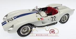CMC Ferrari 250 Testa Rossa white #22, Lucybelle II, 1958, Limited Edition 2000