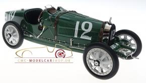 CMC Bugatti T35 GP Angleterre #12 vert
