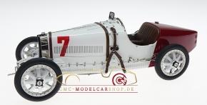 CMC Bugatti T35 GP Poland #7 white/red