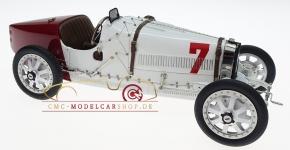CMC Bugatti T35 GP Polen #7 weiss/rot