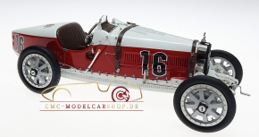 CMC Bugatti T35 Monaco #16, Nation Color Project
