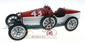 CMC Bugatti T35 Hongrie #43, Nation Color Project