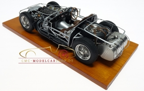 CMC Maserati 300S, 1956 Rolling Chassis, base en bois incl.