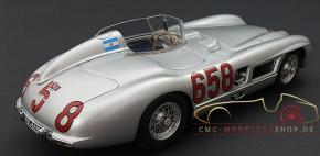 CMC Mercedes-Benz 300 SLR, #658 Fangio, Mille Miglia 1955
