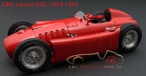 CMC Lancia D50, 1954-1955