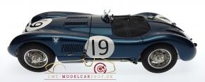 CMC Jaguar C-Type 1954 Goodwood Member's Meeting, Ecurie Ecosse #19 Jimmy Stewart