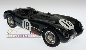 CMC Jaguar C-Type 1953 24H Frankreich Sieger #18 Tony Rolt/Duncan Hamilton