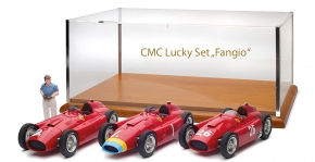 "CMC Lucky Set ""Fangio"" Ferrari D50 long nose #1+Ferrari D50 short nose #1+Ferrari D50 #26"