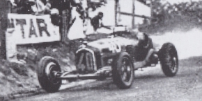 CMC Alfa Romeo P3 FAGIOLI, GEWINNER GP Comminges 1933, #40