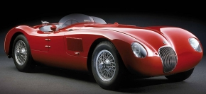 CMC Jaguar C-Type red