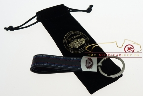 CMC Key fob in style-leather CMC 25 Years