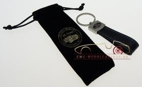 CMC Schlüsselanhänger Style-Leder 25 Jahre CMC