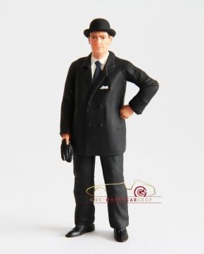 Figutec figurine Ettore Bugatti 1:18