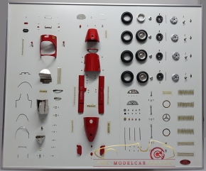 CMC Model Art Ferrari 500 F2 Bauteile Display