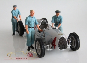 Figutec Set 3 mécaniciens figurines Auto Union 1:18