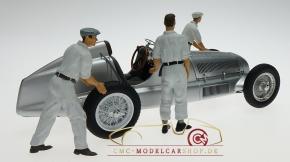 Figutec Figuren Set 3 Mercedes Mechaniker 1:18