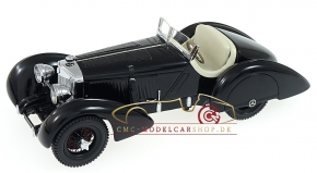 "CMC Mercedes SSK Trossi, 1932 ""The Black Prince"", Interior leather White"