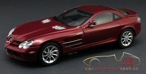 CMC Mercedes-Benz SLR McLaren, red metallic, leather black
