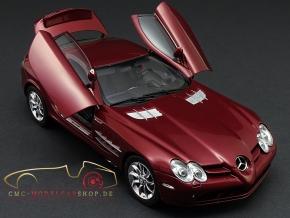 CMC Mercedes-Benz SLR McLaren, Rot Metallic, Leder Schwarz