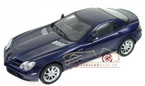 CMC Mercedes-Benz SLR McLaren, blau, Leder grau