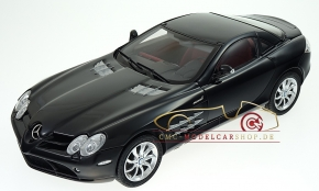 CMC Mercedes-Benz SLR McLaren, black, leather red