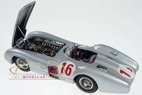 CMC Mercedes-Benz W 196 R #16, Stirling Moss, GP Monza 1955, signiertes Sondermodell