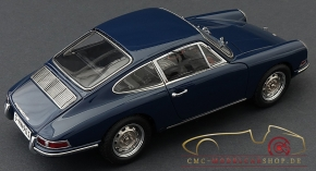 CMC Porsche 901 (Serie) 1964 baliblue, interior leather black