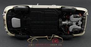 CMC Porsche 901 (Serie) 1964 elfenbein, innen Leder rot