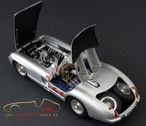 CMC Mercedes-Benz 300 SLR, Mille Miglia #722, 1955 sign. Sir Stirling Moss