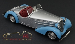 CMC Audi Front 225 Roadster, 1935, blue/silver