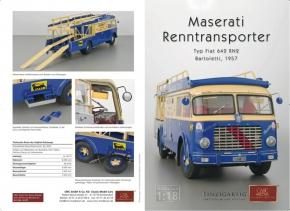 CMC Maserati Transporter Typ Fiat 642 RN2 Bartoletti, 1957