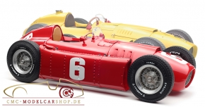 CMC Bundle: CMC Ferrari D50, GP Belgien #20 A.Pilette + CMC Lancia D50 GP Turin #6 Ascari