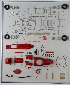 CMC Model Art Maserati 250 F parts display board