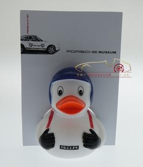 Porsche Musée Canard 911R 1967, casque bleu