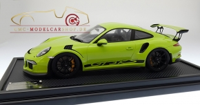 Spark Porsche 911 (991) GT3 RS lightgreen, Limited Edition 100