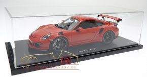 Porsche 911 (991) GT3 RS lavaorange, Limitée 300, Porsche Museum
