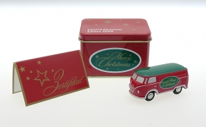 Schuco Piccolo VW T1 Bus VAPS Christmas 2004