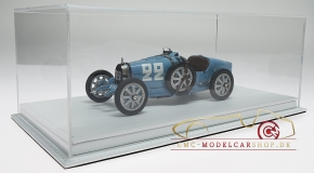 CMC Bugatti T35 #22 GP France incl. Atlantic vitrine